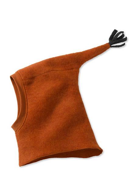Wollfleece Mütze aus reiner Schurwolle