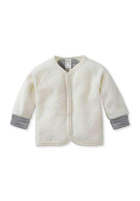 Wollfrottee Jacke aus reiner Bio-Merinowolle