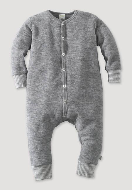 Wollfrottee Overall aus reiner Schurwolle