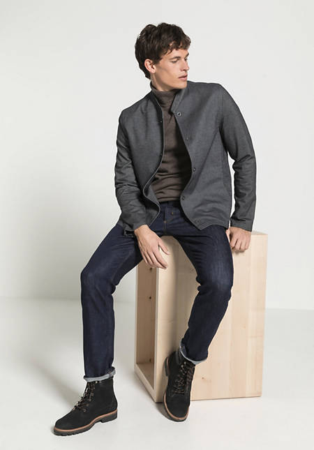 Workwear jacket made from organic cotton