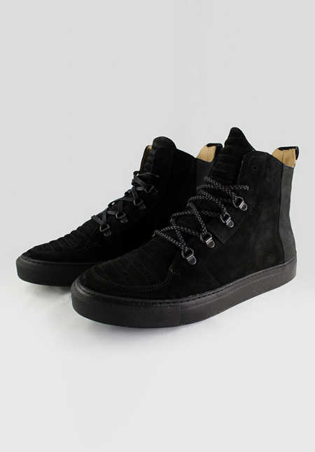 Argan High / Black Suede Black Sole