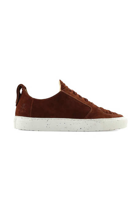Argan Low / Rust Suede