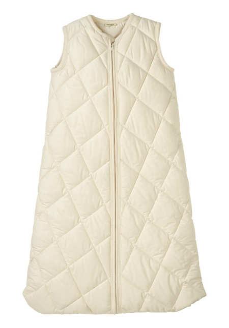 Baby Satin-Schlafsack aus reiner Bio-Baumwolle