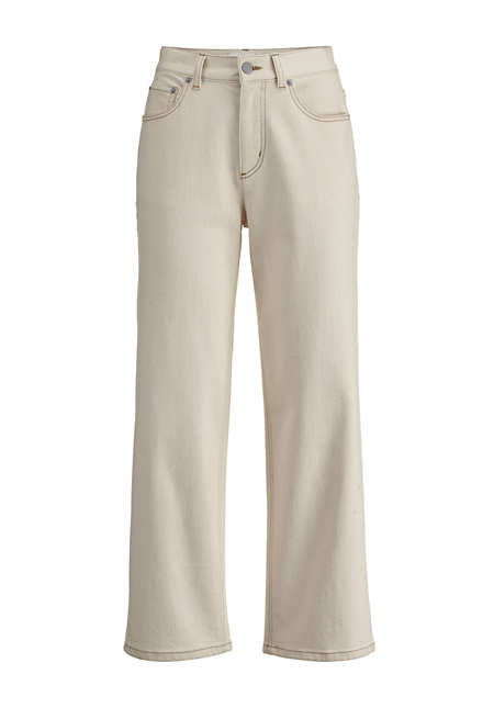 Barrel Leg Jeans aus Bio-Denim