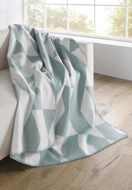 Baumwoll-Decke Kaleido