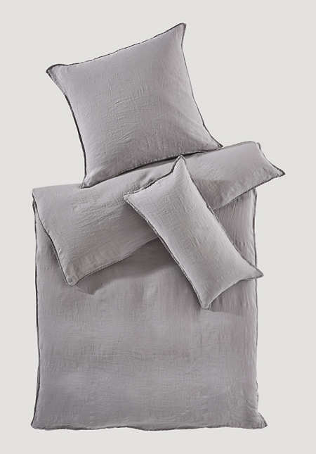 Bed linen made from pure organic linen