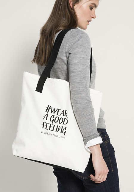 Canvas-Tasche aus reiner Baumwolle