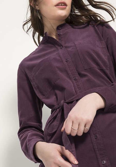 Cord-Kleid aus reiner Bio-Baumwolle