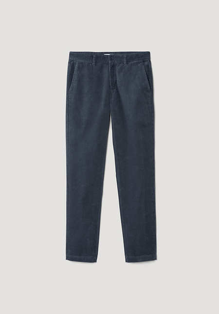 Corduroy trousers made of hemp with organic cotton