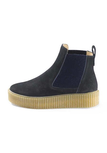 Damen Chelsea Boots aus Leder