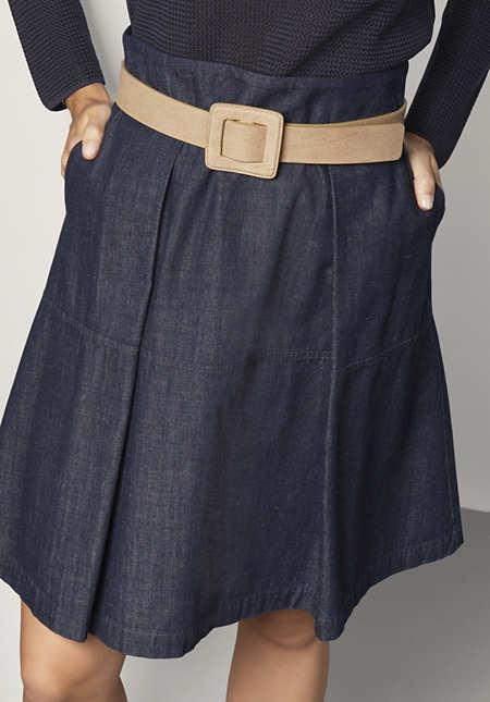 Damen Gürtel aus Leder