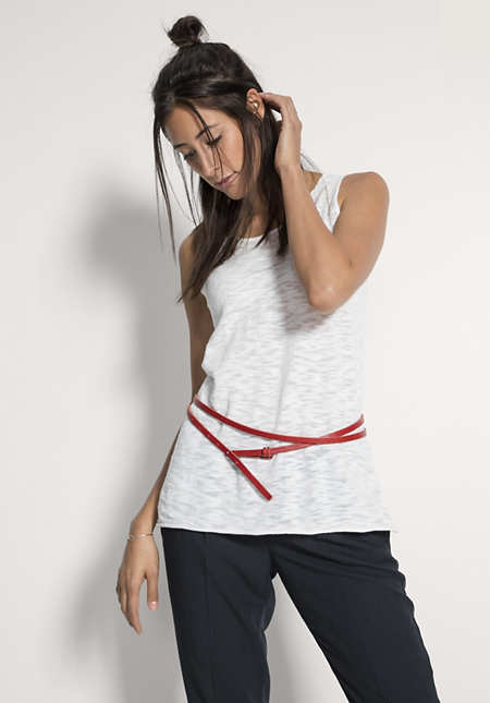Damen Leder-Gürtel zum Wickeln