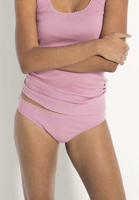 Damen Minislip aus Bio-Baumwolle