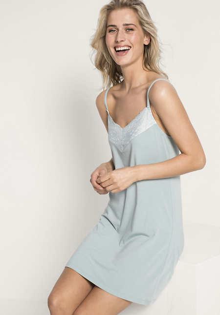 Damen Nachthemd aus Bio-Baumwolle und Modal