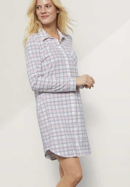 Damen Nachthemd aus reiner Bio-Baumwolle