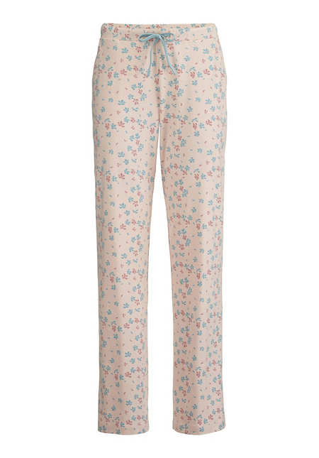 Damen Pyjamahose aus reiner Bio-Baumwolle