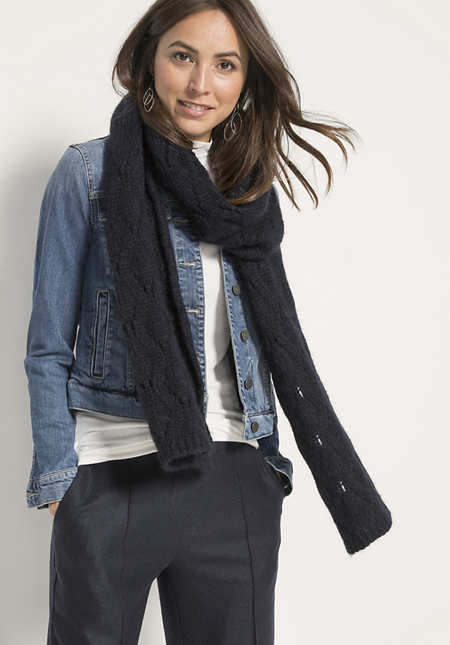 Damen Schal aus Alpaka-Mix