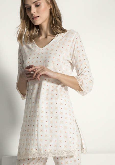 Damen Tunika aus reiner Bio-Baumwolle