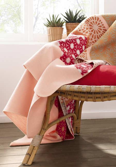 Decke Fanö aus reiner Bio-Baumwolle