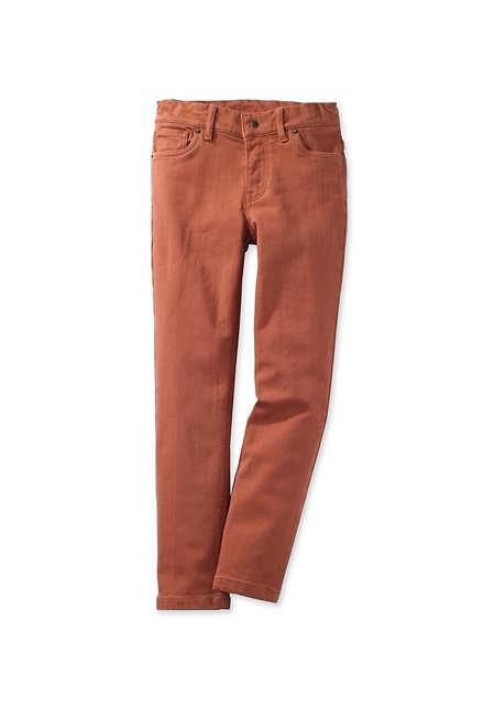 Farbige Jeans aus Bio-Baumwolle