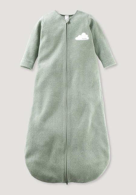 Fleece-Schlafsack aus reiner Bio-Baumwolle
