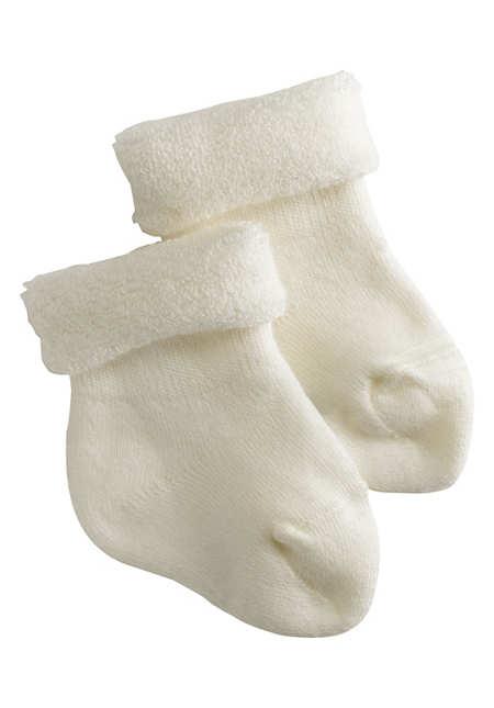 Frottee-Socke im 2er-Pack aus Bio-Baumwolle