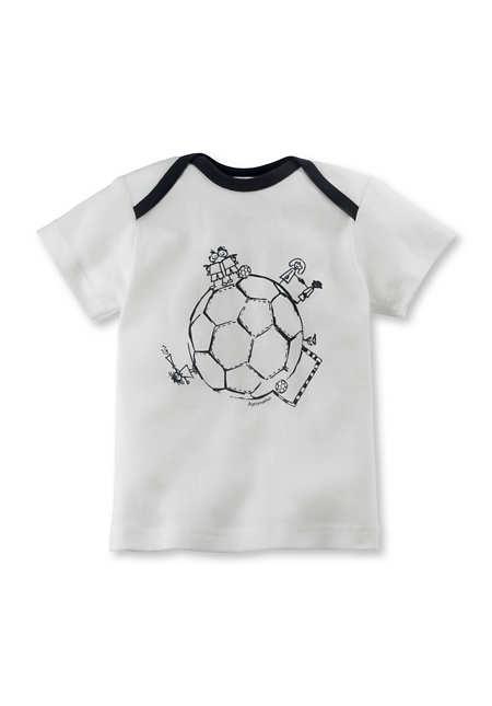 Fussball-Shirt aus reiner Bio-Baumwolle