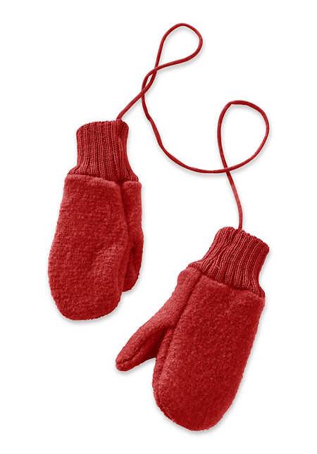 Handschuhe aus reiner Bio-Schurwolle