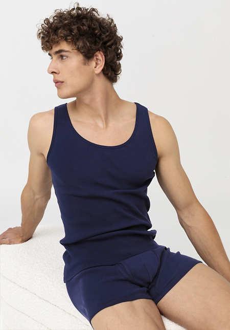 Herren Achselshirt aus Bio-Baumwolle