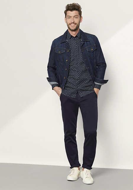 Herren Hemd Modern Fit aus Bio-Baumwolle