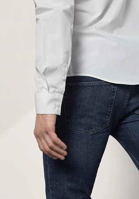 Herren Hemd Modern Fit aus reiner Bio-Baumwolle