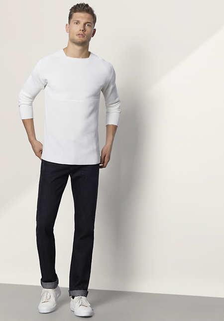 Herren Jeans Straight Fit aus reinem Bio-Denim