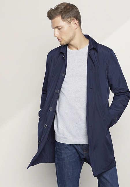 Herren Mantel aus Recycled Polyester