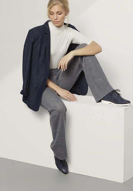 Hose aus Bio-Baumwolle und Bio-Schurwolle