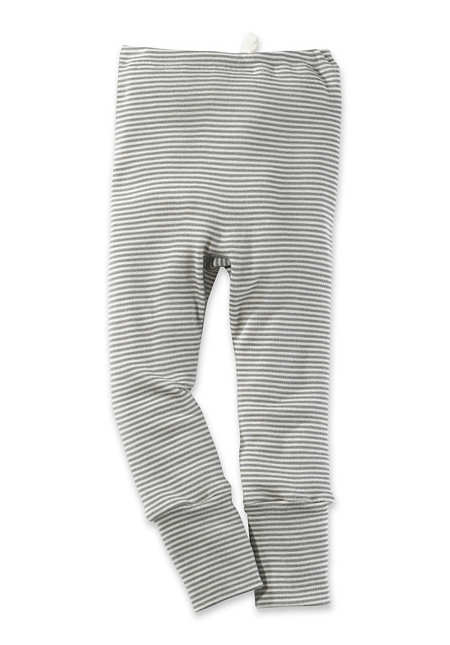 Hose aus Bio-Merinowolle mit Seide