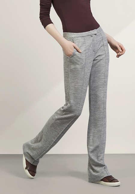 Hose aus Bio-Schurwolle, Modal und Bio-Baumwolle