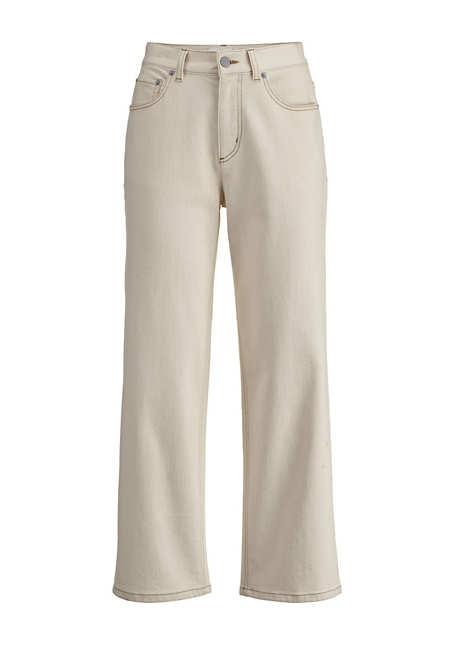 Jeans Barrel Leg aus Bio-Denim