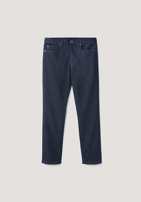 Jeans Ben Straight Fit aus Bio-Denim mit Schurwolle