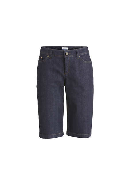 Jeans Bermudas aus Bio-Baumwolle