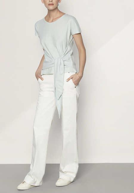 Jeans Flared aus Bio-Denim