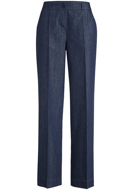 Jeans Flared aus reinem Bio-Denim