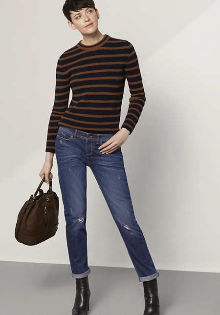"""Jeans Relaxed Fit """"Used"""" aus Bio-Denim"""