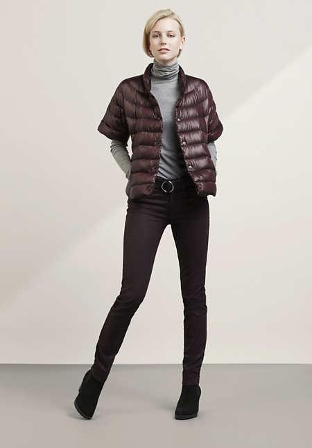 "Jeans Slim Fit ""Gloss"" aus Bio-Baumwolle"