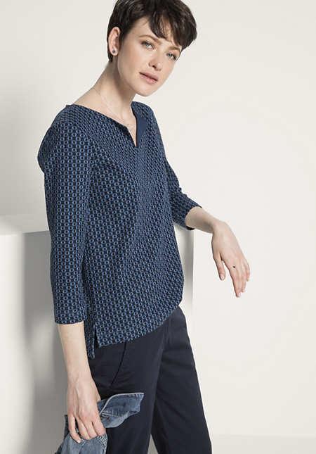Jersey-Shirt aus Bio-Baumwolle