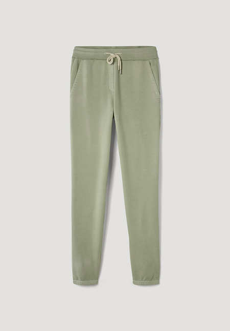 Jogging pants, mineral-dyed, made of pure organic cotton