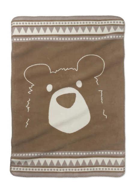 Kinder- und Baby-Decke aus reiner Bio-Baumwolle