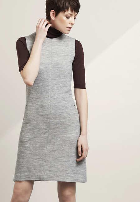 Kleid aus Bio-Merinowolle mit Modal und Bio-Baumwolle