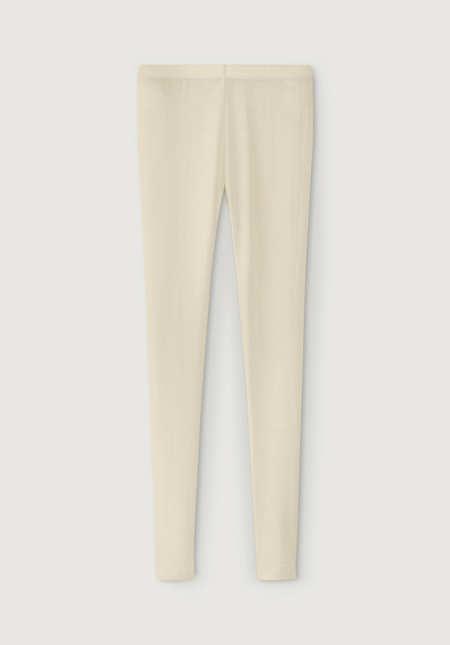Lange Unterhose aus reiner Bio-Merinowolle