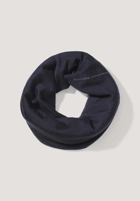 Loop made of pure organic merino wool
