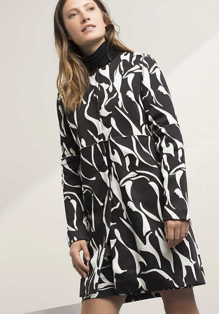 Mantel aus Modal mit Bio-Baumwolle